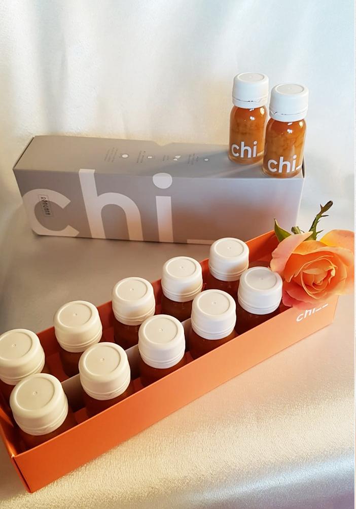 Chi – 100% natürlicher Energy-Shot mit Ingwer, Ananas, Zitrone & Maca-Wurzel
