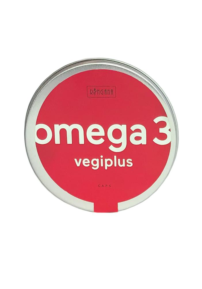 Vegane Omega 3 Kapseln –  mit Vitamin D, Vitamin K, Vitamin E und sekundären Pflanzenstoffen